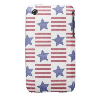 Rustic Americana iPhone 3 Cases