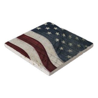 Rustic Americana Custom Stone Trivet