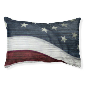 Rustic Americana Dog Bed