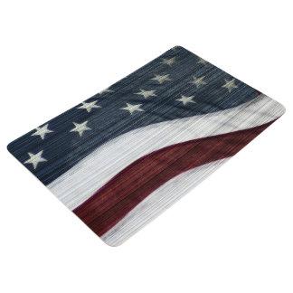 Rustic Americana Floor Mat