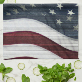 Rustic Americana Kitchen Towel