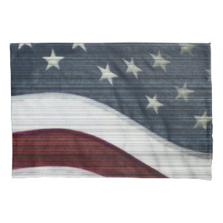Rustic Americana Pair of Pillowcases