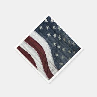 Rustic Americana Paper Napkins