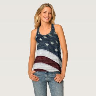 Rustic Americana Tank Top
