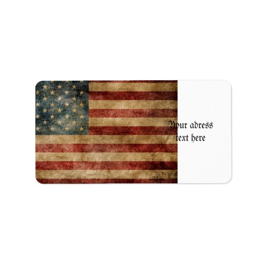 rustic americana,usa flag,grunge,vintage,tradition label
