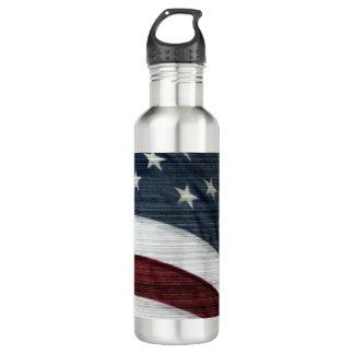 Rustic Americana Water Bottle