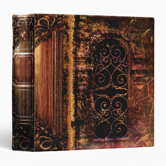 Rustic Ancient Tome Medieval Leather Book Binder
