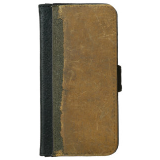Rustic Antique Leather Inspired Torn Book Cover