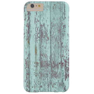 Rustic Aqua Barn Wood Barely There iPhone 6 Plus Case