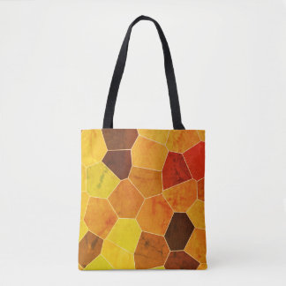 Rustic Autumn Color Pattern Tote Bag
