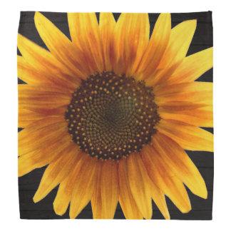 Rustic Autumn Sunflower Bandana