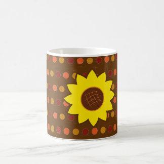 Rustic Autumn Sunflower Coffee Mug