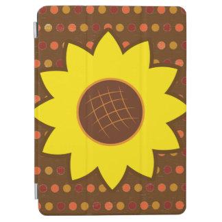 Rustic Autumn Sunflower iPad Air Cover