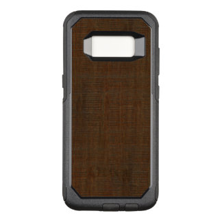 Rustic Bamboo Wood Grain Texture Look OtterBox Commuter Samsung Galaxy S8 Case