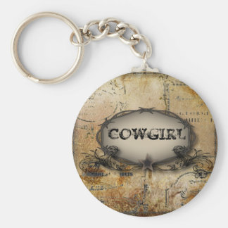 rustic barbed wire western country cowboy wedding keychain