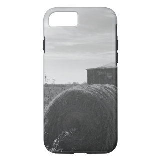 Rustic Barn and Hay bales scenery iPhone 7 case