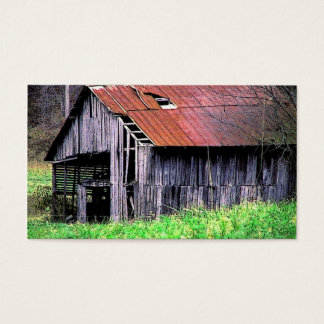 Rustic Barn Business Card