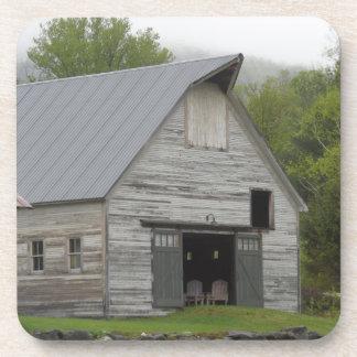 Rustic Barn- Vermont Beverage Coaster