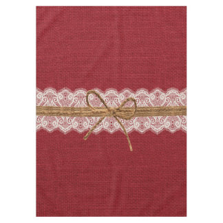 Rustic Barn Wedding Burlap Fall Wedding Tablecloth
