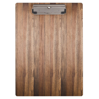 Rustic barn wood boards clipboard