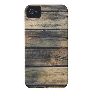 Rustic Barn Wood iPhone 4 Case-Mate Case