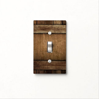 Rustic Barn Wood - Light Switch Cover