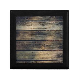 Rustic Barn Wood Trinket Boxes