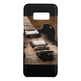 Rustic Barn Wood Western Country Music Guitar Case-Mate Samsung Galaxy S8 Case
