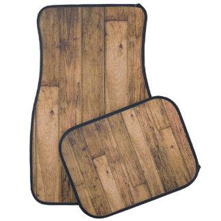 Rustic Barn Wooden Wood Planks Farmhouse Car Mat