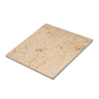 Rustic Beige Textured Grunge Concrete Cracks Photo Tile