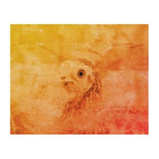 Rustic Bird Wood Wall Art