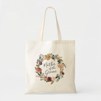 Rustic Bloom | Mother of the Groom Tote Bag