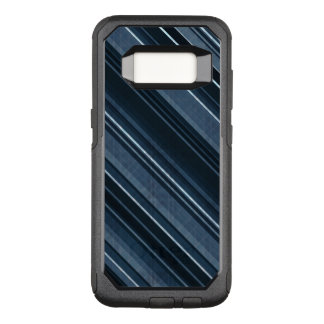Rustic Blue, Attractive Men's Stripes Pattern OtterBox Commuter Samsung Galaxy S8 Case