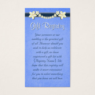 Registry Business Cards and Business Card Templates Zazzle Canada