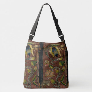 Rustic Book Cover Bags Embroidered Velvet