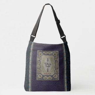 Rustic Book Cover Bags Wuthering Heights