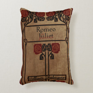 Rustic Book Cover Cushion Romeo And Juliet