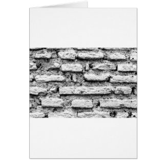 Rustic brickwall card