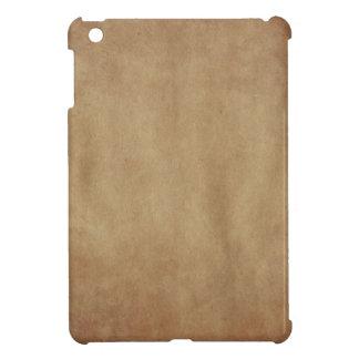 Rustic Brown Abstract Art Apple iPad Mini Case