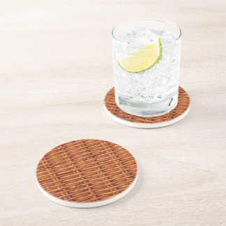 Rustic Brown Wicker Picnic Basket Country Style Coaster