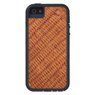 Rustic Brown Wicker Picnic Basket Country Style iPhone 5 Cases