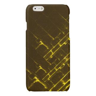 Rustic Brown Yellow Geometric Batik Weave Modern