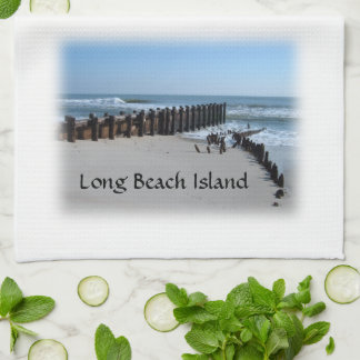 Rustic Bulkhead on Beach Towel