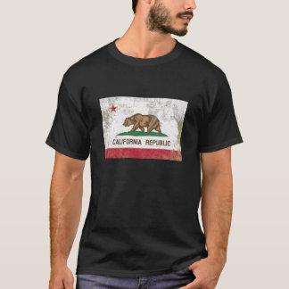 Rustic California State Flag T-Shirt