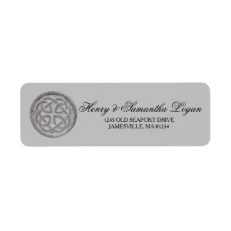 Rustic Celtic Knot Return Address Labels