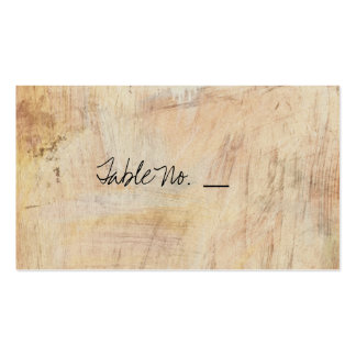 Rustic Cherry Blossom - Wedding Guest Escort Cards Business Card