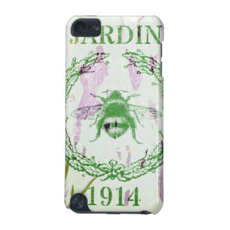 rustic chic french country lavender vintage bee iPod touch (5th generation) case
