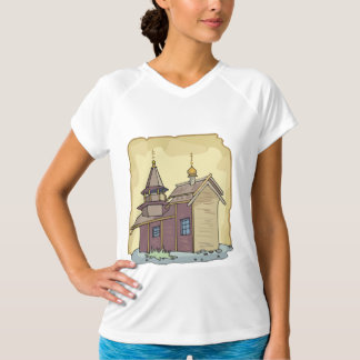 Rustic Church Womens Active Tee