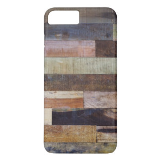 Rustic colored wooden planks iPhone 8 plus/7 plus case