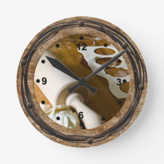 Rustic Cooking Clock